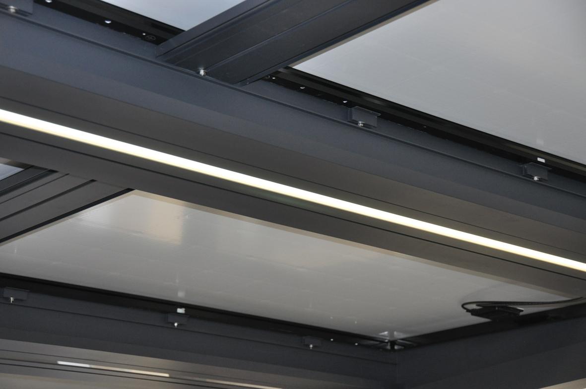 Überdachung – Pergola – Carport energetisch IRFTS SHADOW SOLAR | IRFTS